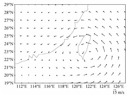 双雷达反演台风外围强带状回波风场结构特征研究